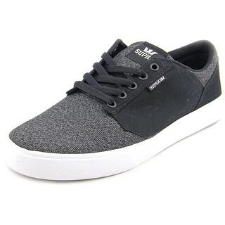 Supra Yorek Low Men Round Toe Canvas Sneakers