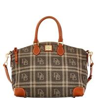 Dooney & Bourke DB Plaid Jacquard Satchel (Introduced by Dooney & Bourke at $228 in Jul 2016)
