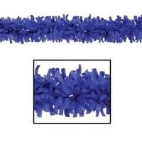 Club Pack of 24 Bright Blue Festive Tissue Festooning Decorations 25'