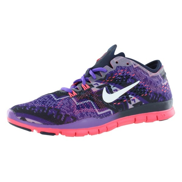 online retailer 2066d 65dbd Nike Free 5.0 Tr Fit 4 Print Training Women  x27 s Shoes - 5