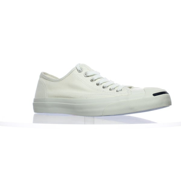 Shop Converse Mens 1Q698 White White Fashion Sneaker Size 8.5 - Free ... b2422bc06098