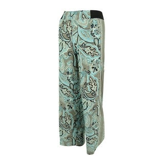 INC International Concepts Women's Paisley Print Jersey Pants