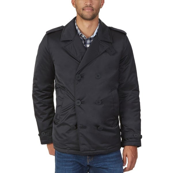 fa0df2aa58 Shop Nautica Mens Stealth Waterproof Peacoat Medium M True Black ...