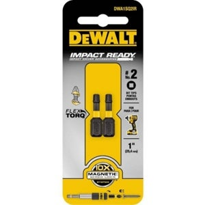Dewalt DWA1SQ2IR No.2 Bit Impact Ready, 1 in. Sq.