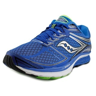 Saucony Guide 9 Men W Round Toe Synthetic Blue Running Shoe
