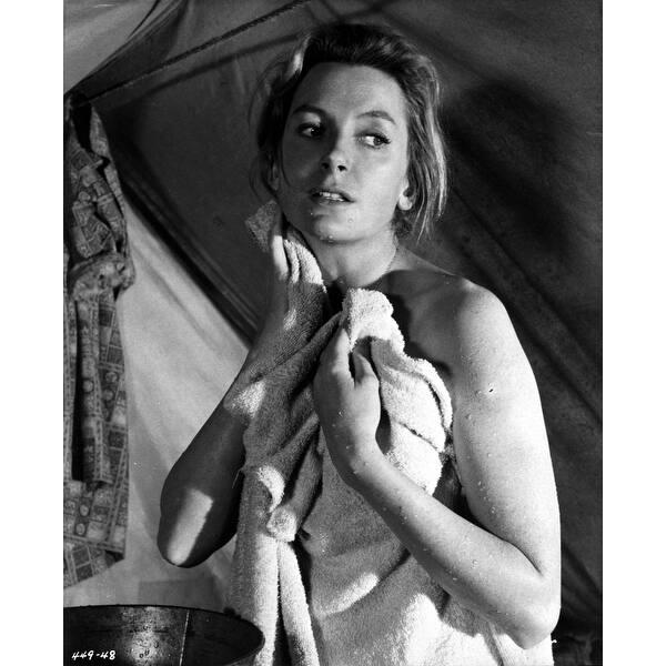 Shop Deborah Kerr Rubbing with Her Bath Towel Photo Print - Overstock -  25386767