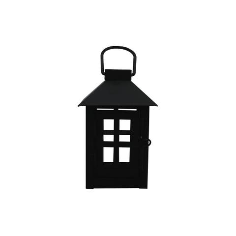 5228-11 darice lantern metal 3x5 25x3 square black