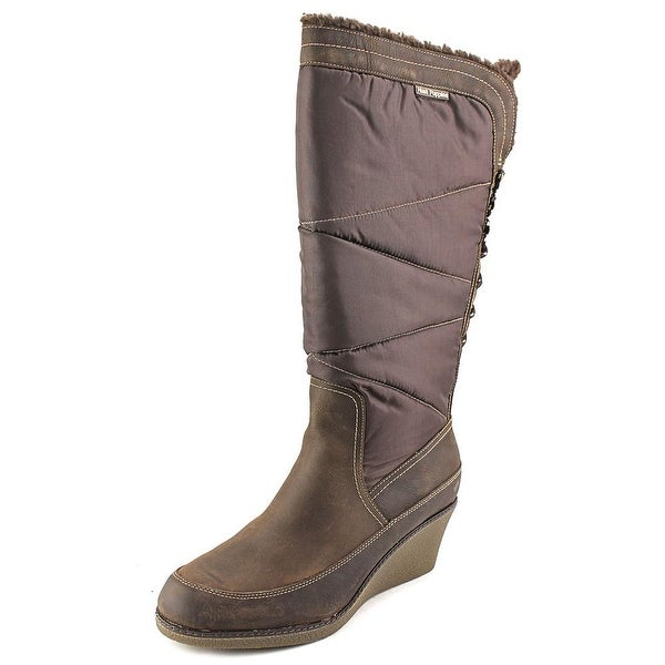 Hush Puppies Leslie Chamber Round Toe Suede Knee High Boot