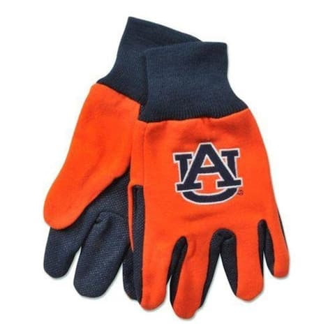 McArthur 9960693955 Auburn Tigers Two Tone Glove Adult