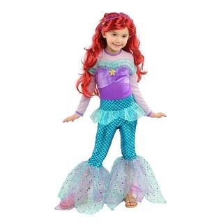 Playful Mermaid Costume for Girls