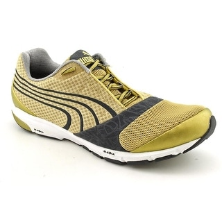 Puma Complete Roadracer Men Round Toe Synthetic Gold Running Shoe