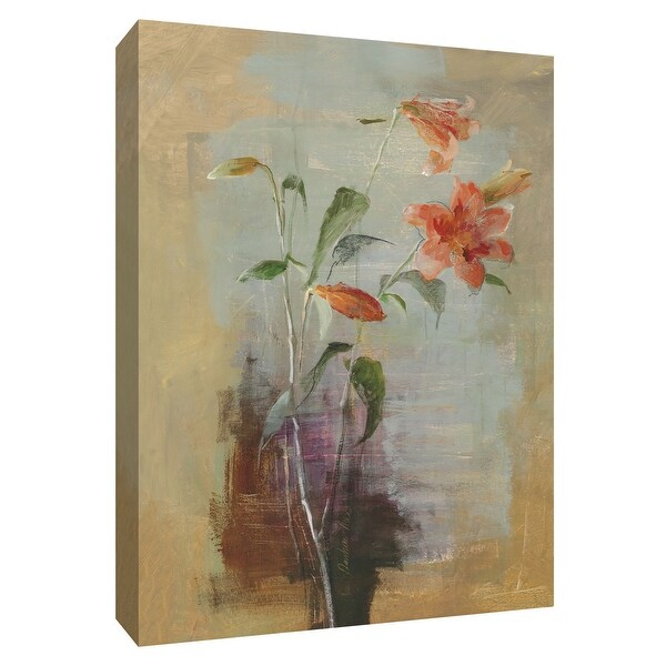 """PTM Images 9-154572 PTM Canvas Collection 10"""" x 8"""" - """"Contemporary Lilies I"""" Giclee Lilies Art Print on Canvas"""