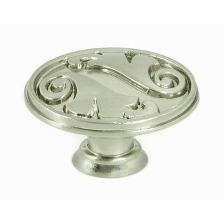 Link to Stone Mill Hardware - Satin Nickel Oakley Cabinet Knobs (Pack of 25) Similar Items in Kitchen Storage