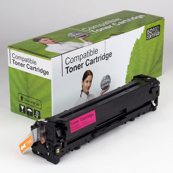 Value Brand replacement for HP 128A Magenta Toner CE323A (1,300 Yield)