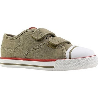 Umi Boys' Claud Sneaker Big Kid Taupe Canvas