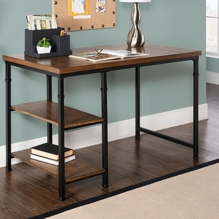 Link to Carbon Loft Harrison 2-shelf Desk Similar Items in Desks & Computer Tables