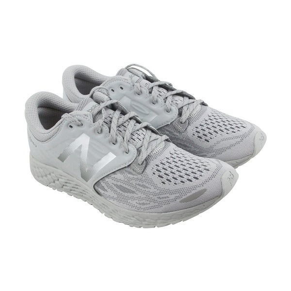 New Balance Course Womens Gray Textile Athletic Lace Up Running Shoes