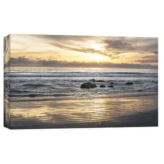 "PTM Images 9-102253  PTM Canvas Collection 8"" x 10"" - ""Coronado Beach 2"" Giclee Coastlines Art Print on Canvas"