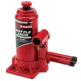 Powerbuilt 6 Ton Bottle Jack, Heavy Duty, 640911