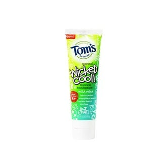 Tom's of Maine - Wicked Cool Kid's Toothpaste With Flouride - Mild Mint ( 6 - 4.2 OZ)
