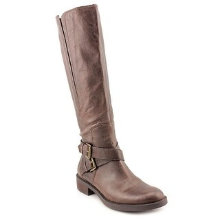 Enzo Angiolini Scarly/wc Women Round Toe Leather Knee High Boot