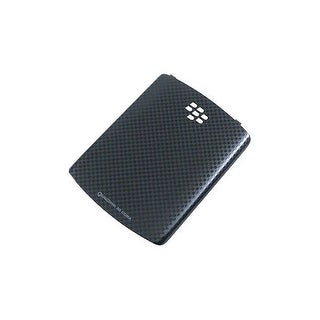 OEM BlackBerry Curve 3G, Curve 8530, 8520 Battery Door / Cover - Black Checker