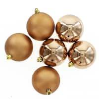 Suede Brown Shatterproof Balls