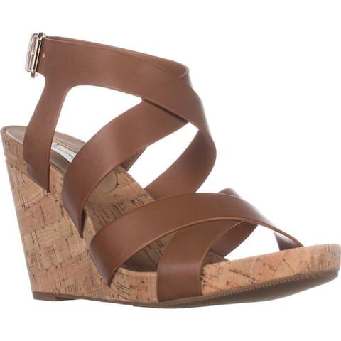 INC International Concepts Womens Landor Open Toe Casual Platform Sandals