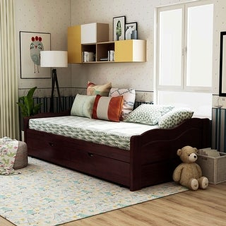 Link to Taylor & Olive Savery Transitional Wooden Daybed with Trundle Similar Items in Kids' & Toddler Furniture