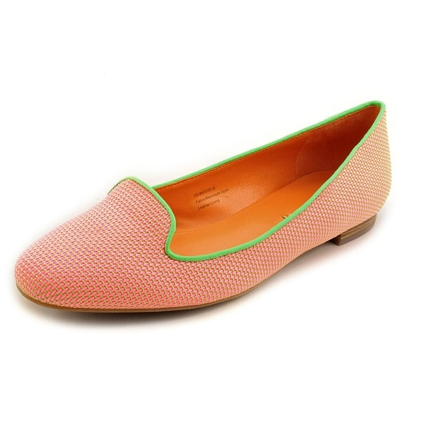 Via Spiga Edina Women Round Toe Canvas Pink Flats