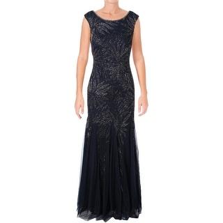 Adrianna Papell Womens Formal Dress Beaded Sleeveless - 6