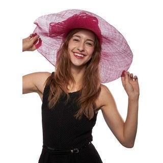 Haydock Park Princess Sinamay Derby Hat