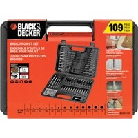 Black & Decker 3875333 Drill & Screwdriving Bit, 109 Piece