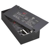 WAC Lighting EN-B12PY-AR 12 Volt Enclosed Electronic Transformer - 250 Watt Maximum Load - Black - N/A
