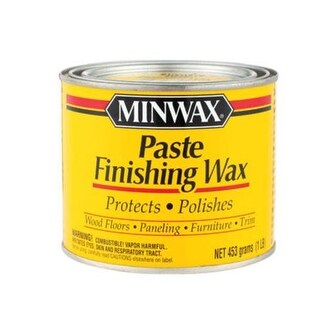 Minwax 78500 Paste Finishing Wax, 1 lbs