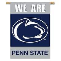 Penn State University Nittany Lions 2-Sided House Flag/Banner