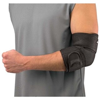 Mueller 376250 Adjustable Elbow Support, Black