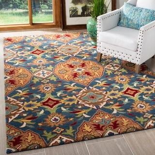 Safavieh Handmade Heritage Perla Traditional Oriental Wool Rug