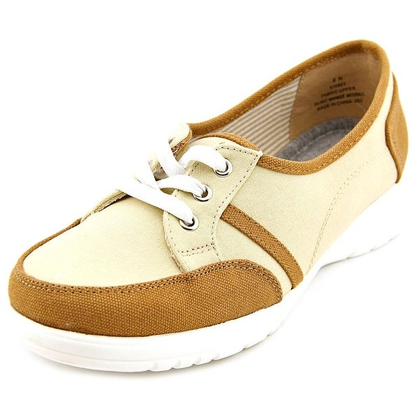 Beacon Sporty Lace Up Women N/S Round Toe Canvas Sneakers