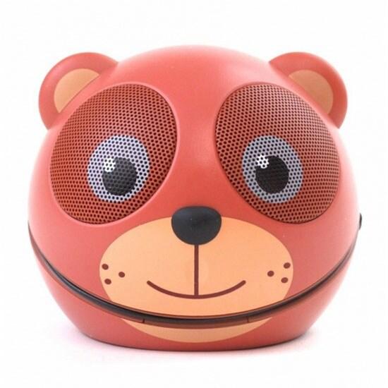 Portable Mini Character Speaker (Cocoa the Bear)