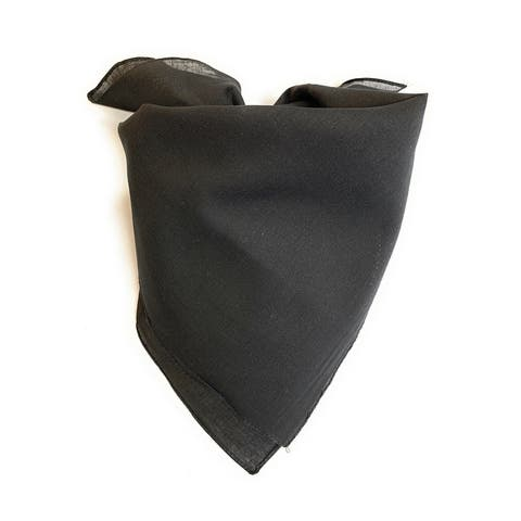 Jordefano Shawl Soft Cotton Scarf Neckerchief - 7 Pack - One Size