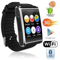 Indigi 2018 3G Android 5.1 Smart Watch Phone (GSM Factory Unlocked) Maps - WiFi - GPS - Google Play Store