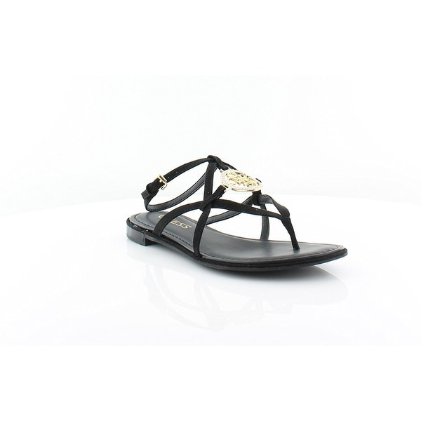GUESS Womens Romie3 Open Toe Casual Slingback Sandals