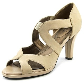 Life Stride Valuable Women Open Toe Synthetic Nude Sandals