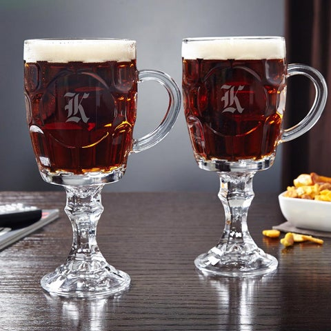 Düsseldorf Beer Goblets, Set of 2