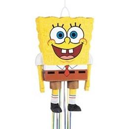 """SpongeBob SquarePants 3D - Pull Pinata 23""""X14"""""""