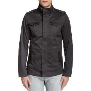 Diesel J-Nirav 00SC56 00DNM Full Zip Jacket Medium M Charcoal Cotton Blend
