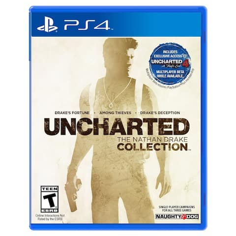 UNCHARTED: The Nathan Drake Collection Game for PlayStation 4 - Multicolor
