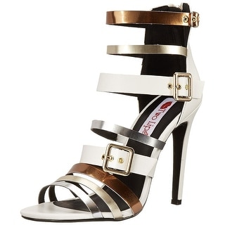 Two Lips Women's Viola Buckle Strap Heels