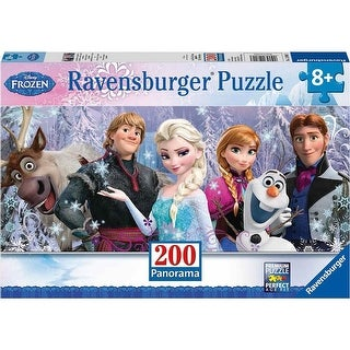 Disney Frozen Friends 200 Piece Panoramic Puzzle